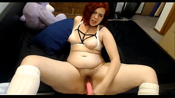 Lustful fetishist Djinni fucks herself for public gaiety