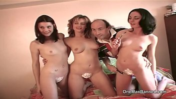 Pussy shaving photoshoot with three Brit girls