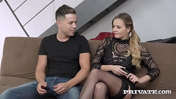 Private.com Candy Alexa, a curvy and busty hot babe loving anal