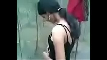 Desi college girl exposed outdoor with bf