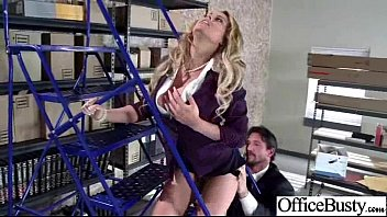 Hard Sex Tape In Office With Wild Bigtits Girl Video-14