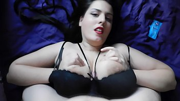 Young wife love to take cock between her tits while keep bra on-Young Strawberry93