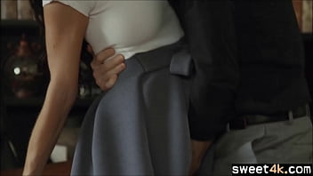 Office fucking with Boss and worker Milf