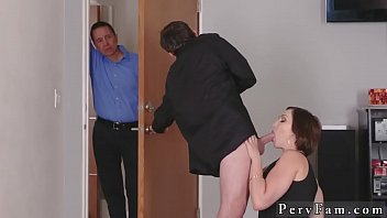 hairy milf first time auntie to the rescue