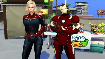 Captain Marvel Fucked By Iro Man Marvel Porn