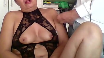 HAIRY MOTHER MASTURBATES BY LIVE WEBCAM AND RECORDED IT WITH TWO CAMERAS, MASTURBATION, ORGASMS, MOANS, CUMSHOT ON TITS - ARDIENTES69