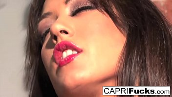 Capri Plays With Her Amazing Tits And Tight Wet Pussy