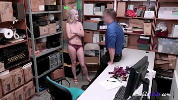 She gets forced fucked by security- Emily Right