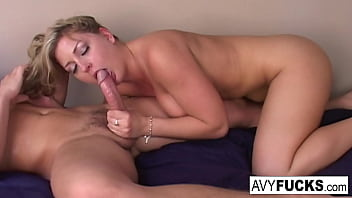 Hot Avy gets a little taste of Czech with her foreign friend Jerry