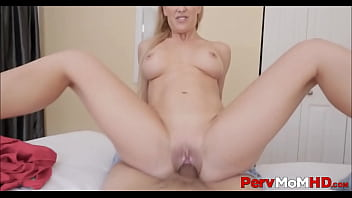 Hot MILF Step Mom Cherie Deville Seduces Step Son With Her Perfect Body Gets Fucked To Multiple Orgasms POV