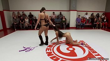 Looser wrestler fucked by audience