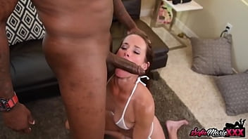 Stunning MILF Sofie Marie Picked Up and Fucked by BBC Stud 10 min