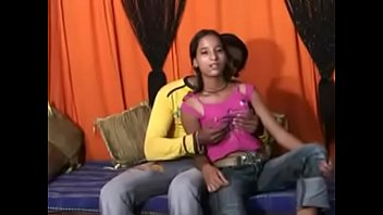 Little Indian girl is fucked in the ass and fingered in the ass by the old man