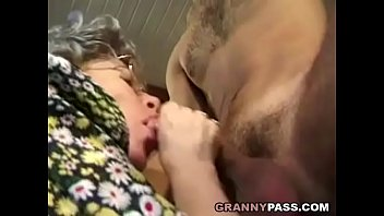 German Granny Can't Wait To Fuck Young Delivery Guy thumbnail