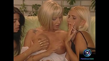 Sandra Iron, Aphrodite and Suzy pleasuring themselves with strapon dildo