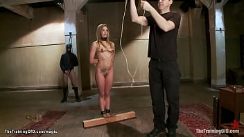 Slave trained to anal fuck better