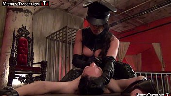 Mistress Tangent Spitting And Smoking