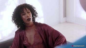 Kiss Mommy's feet you bad motherfucker! - Misty Stone thumbnail