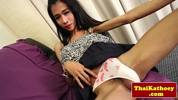 """Teen thai shemale loves to finger her ass <span class=""""duration"""">6 min</span>"""