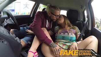 Fake Driving School Learners post lesson horny orgasm fuck session Image