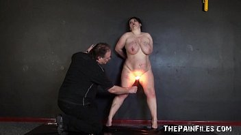 Mature pain gallery clips - Amateur bdsm and hot wax punishment of mature bbw slaveslut in extremes