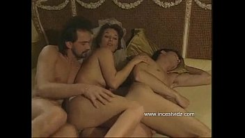 Tent vintage Mom tries to entice her son into threesome with her boyfriend