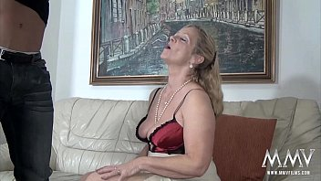 MMV FILMS Sexy Granny tries fresh jock meat preview image