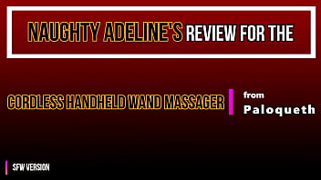 Naughty Adeline Review Cordless Handheld Wand Massager From Paloqueth Sfw 7 Min