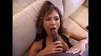 Black man and Sexy Colombian woman Monique Fuentes
