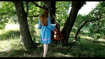 Granny artistic nudes Beautiful cello artist