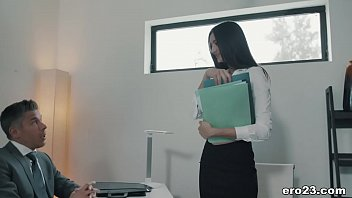 Hot secretary and her big cocked boss - Eliza Ibarra and Mick Blue