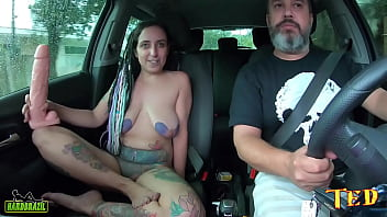 A tattooed woman tells how it all started and why she left her hairy pussy - Ted's ride # 81 - Mandy May Xtuber