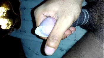 Mumbai Boy Jerking Dick With Condom Cumming Twice