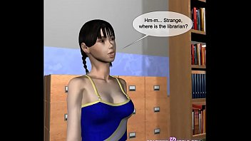 3D Comic: Librarian Preview