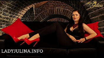 Kneel in front of your Domina Lady Julina you disgusting small dick loser SPH