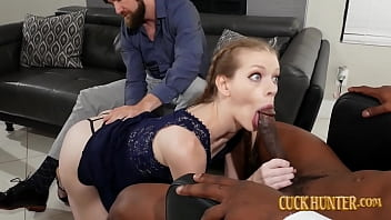 Teen Stepdaughter Nym Fleurette Given To A Big Black Cock Creampie