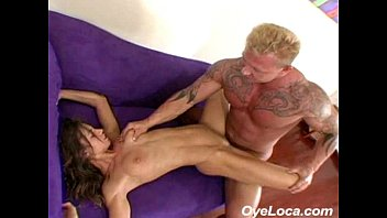 Russell brands shaved head - Slender latina gets rammed hard by a muscled guy
