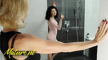 CoverNaughty Step Mom Joins Her Stepdaughter In The Shower