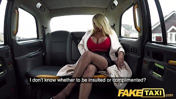 Fake Taxi Massive boobs titwank and hard fuck with British MILF