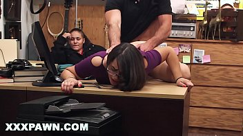 XXX PAWN - Fucking Bitch Doggy Style In Back Of Pawn Shop While Her Friend Watches Me