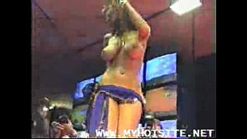 Big ass belly dancer rides tube - Hot belly dance