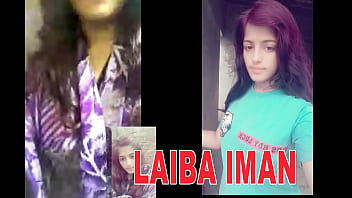 LAiba iman now in a shower to show her body with her boy friend for bathroom