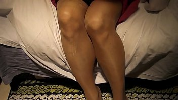 Me wearing skirt, pantyhose, showing some butt...