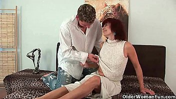 Old woman boy porn - Nothing feels better than blowing your load on grandma