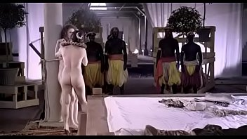Actress naked in movie Fully naked anne louise hassing seducing a man in front of the audience