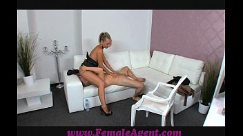 FemaleAgent Nervous stud caught in agents web thumbnail