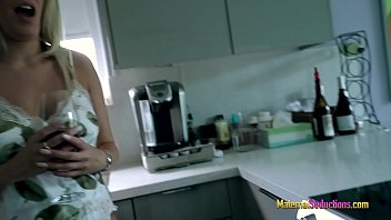 Busty Step Mom is Stuck in the Sink - Nikki Brooks thumbnail