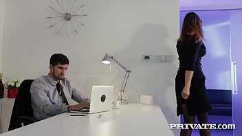 Www adult work co Private.com - barbara bieber puts the squeeze on her boss