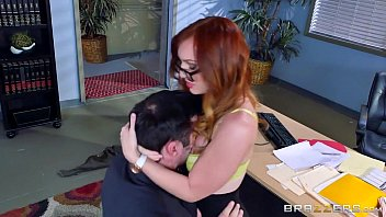 Brazzers Dani Jensen Gets Pounded At Work