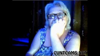 Granny Flashes Tits On Webcam - More At Cuntcams.net